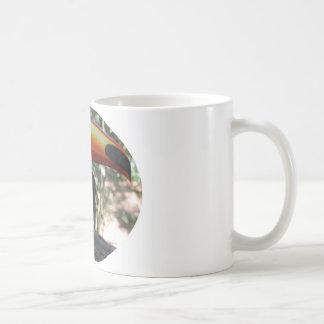 Blanco de Toucan taza blanca clásica de 325 ml