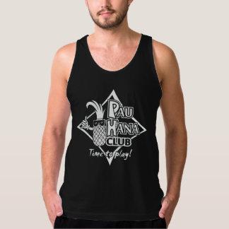 Blanco del club de Pau Hana en las camisetas sin