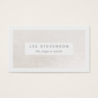 Blanco elegante en moderno elegante blanco trémulo tarjeta de negocios