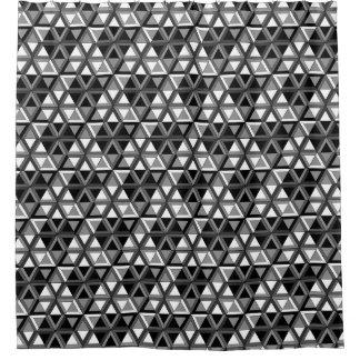 Blanco geométrico moderno del negro del triángulo