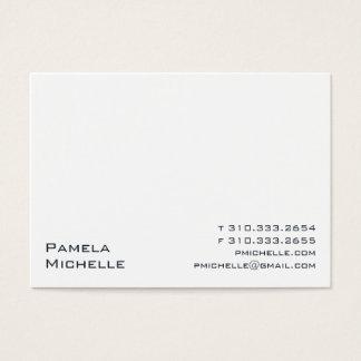 Blanco iii tarjeta de negocios