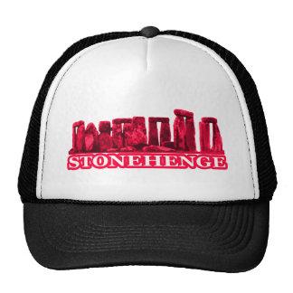 Blanco magenta de Stonehenge los regalos de Zazzle Gorra