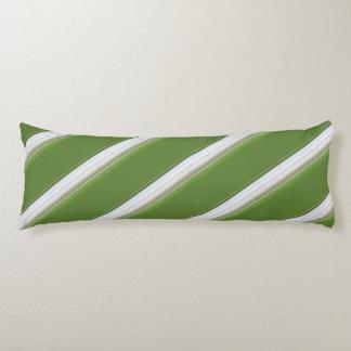 Blanco moderno en raya verde