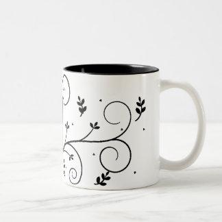 Blanco oficial de Allison - taza de café gris