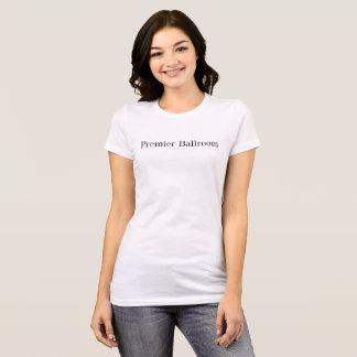 Blanco primero de Ballroom Slim Jersey T-Shirt-