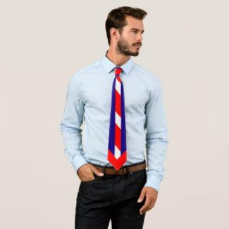 Blanco rojo y azul (colores de los E.E.U.U.) Corbatas