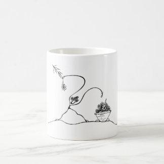 Blanco taza blanca clásica de 325 ml.