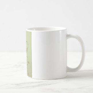 Blanco taza blanca clásica de 325 ml. Santa.