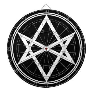 Blanco Unicursal del Hexagram de Falln Diana