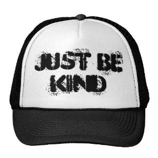 Blanco y negro apenas sea gorra bueno del