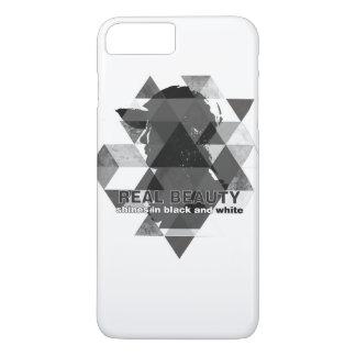 blanco y negro funda iPhone 7 plus