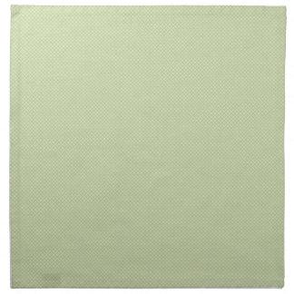 Blancos azules claras en amarillo servilleta imprimida