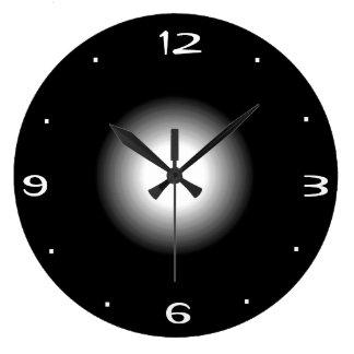 Blancos y negros llanos >Kitchen el reloj