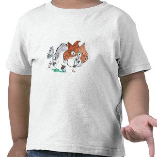 ¡Blech Intentos del gatito para comer una bellota Camiseta