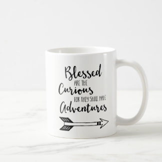 Blessed es la taza de café curiosa con el mapa del