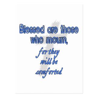Blessed es las que están de luto postal