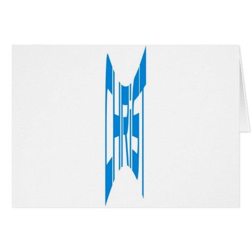 Bleu del haut de Cristo Tarjetas