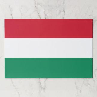 Bloc De Hojas Cojín de papel del Tearaway con la bandera de