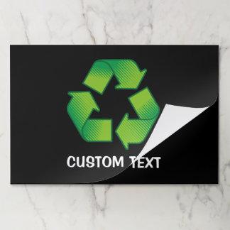 Bloc De Hojas Reciclaje de símbolo