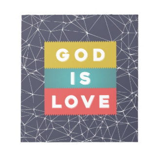 Bloc De Notas 1 4:8 de Juan - dios es amor