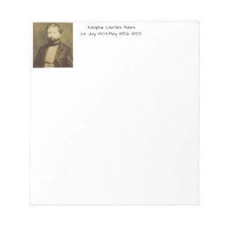 Bloc De Notas Adolfo Charles Adán, 1855