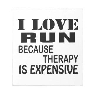 Bloc De Notas Amo funcionamiento porque la terapia es costosa