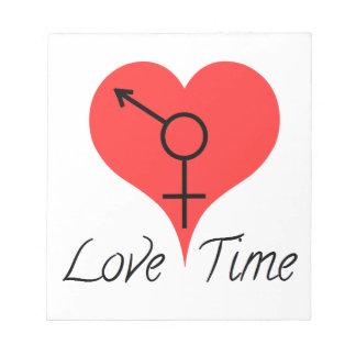 Bloc De Notas amor time
