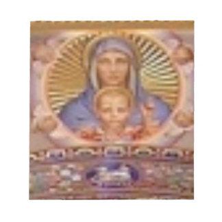 Bloc De Notas arte de Maria y del niño