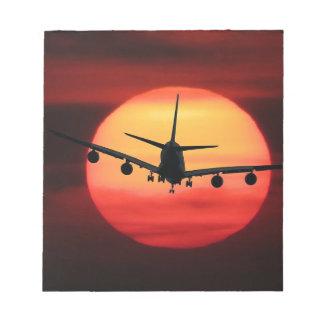 Bloc De Notas Aviones Sun