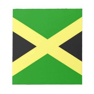 Bloc De Notas ¡Bajo costo! Bandera de Jamaica