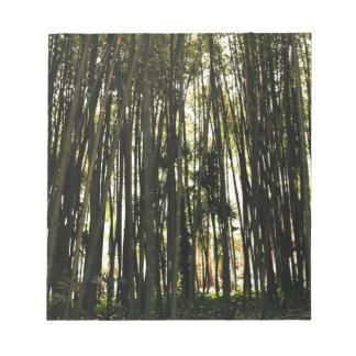 Bloc De Notas Bosque de bambú