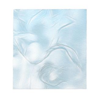 Bloc De Notas Bosquejo de la flor de dos tulipanes en azules