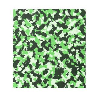Bloc De Notas Camuflaje verde