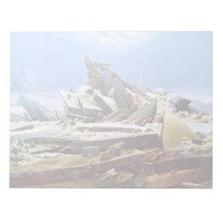 Bloc De Notas CASPAR DAVID FRIEDRICH - el mar del hielo 1824