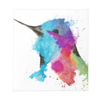 Bloc De Notas colibrí