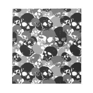 Bloc De Notas Cráneo Black&White