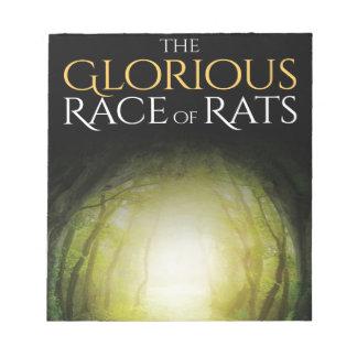 """Bloc De Notas Cubierta de libro """"de la raza gloriosa de ratas """""""