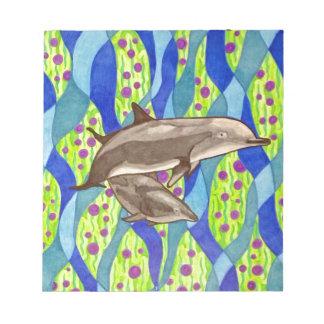 Bloc De Notas delfín