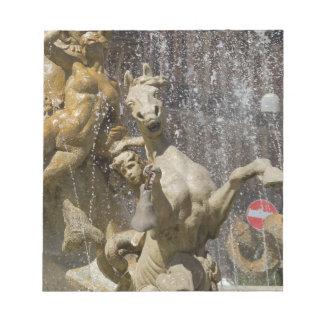 Bloc De Notas Detalle del d'Artemide de Fontana, Ortigia