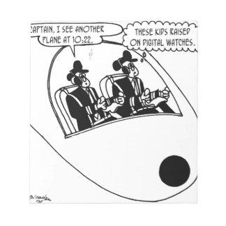 Bloc De Notas Dibujo animado experimental 3683