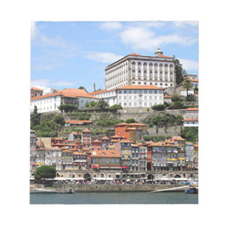 Bloc De Notas Edificios históricos y río, Oporto, Portugal