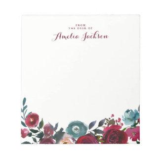 Bloc De Notas Efectos de escritorio personalizados florales