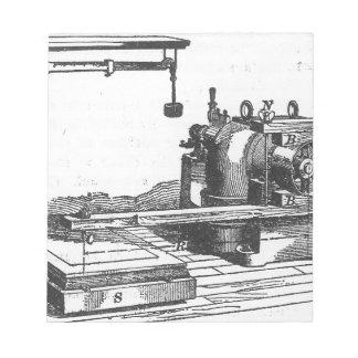 Bloc De Notas Ephemeras antiguas del vintage de la herramienta