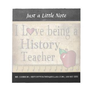 Bloc De Notas Estilo del vintage del profesor el | de la