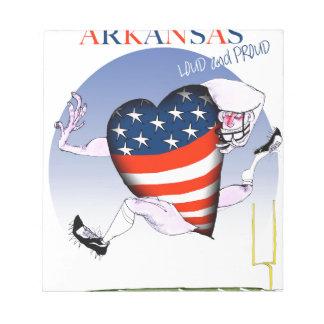 Bloc De Notas fernandes tony ruidosos y orgullosos de Arkansas,