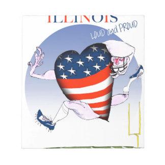 Bloc De Notas fernandes tony ruidosos y orgullosos de Illinois,