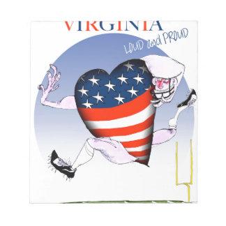 Bloc De Notas fernandes tony ruidosos y orgullosos de Virginia,