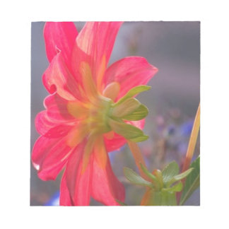 Bloc De Notas Flor rosada