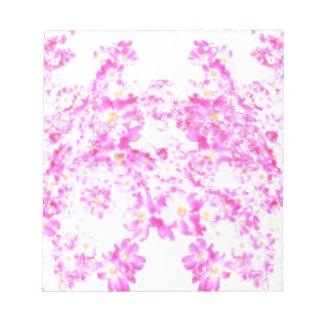 Bloc De Notas Flor rosado del Dogwood