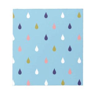 Bloc De Notas Gotas de lluvia felices